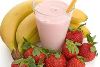 Banana-Strawberry Smoothie