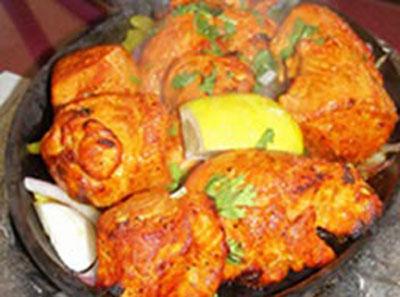 Chicken Haryali Tikka