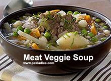 Meat Veggie Soup