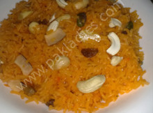 How to Make Zarda Rice