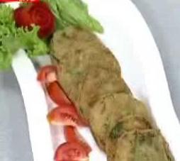 potato and spinach kebab