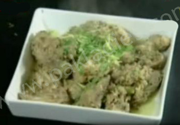 Chicken White Karahi