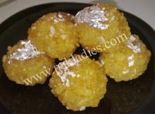 Motichoor Ke Ladoo Recipe in Urdu