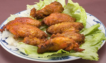 Chicken Wings and Ginger Sauce