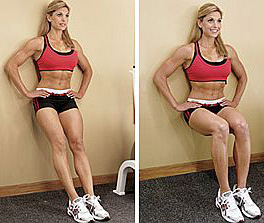 front thigh exercise
