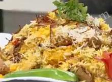 Kachay Gosht Ki mutton Biryani
