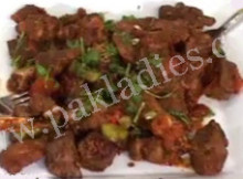 mutton maghaz karahi