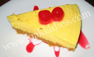 Orange Cheesecake Recipe by Shireen Anwer