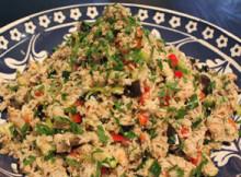 Vegetables Rice Salad