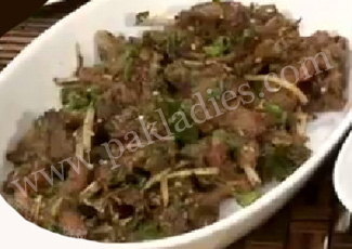 Mutton Chops with Green Masala