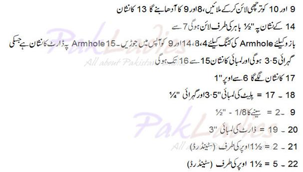 How to Make Pattern for Sari Blouse Part 1 in English - Urdu