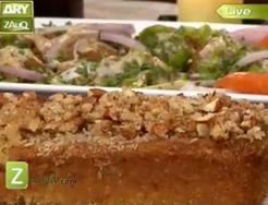 almond cake by sara riaz