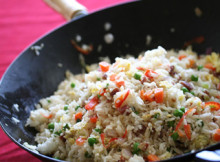 Chinese Mince Fried Rice