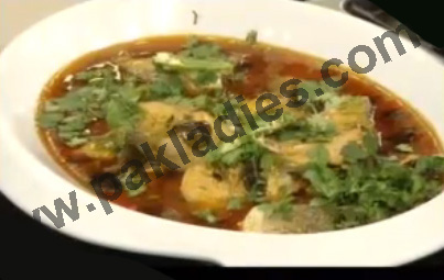 Fish Curry in Mustard Oil