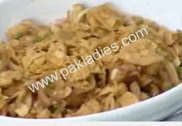 Hot Chana Chaat Recipe