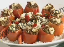Tomatoes Stuffed with Mince