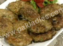 chicken chapli kabab recipe