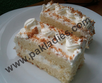 Fresh Cream Pineapple Pastry Recipe