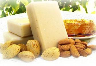 Homemade Almond Soap Recipe