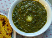 How to Cook Sarson Ka Saag