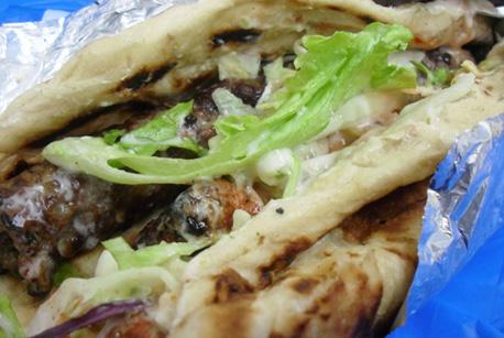 How to Make Lamb Kebab Roll