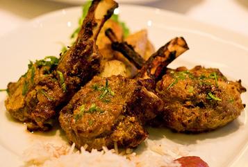 achari mutton chops