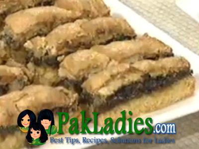 Coconut Moran Brownies Recipe
