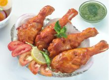 BBQ Tangri Chicken Tikka Recipe