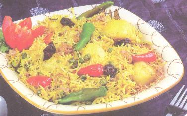 Potato Peas Khichdi