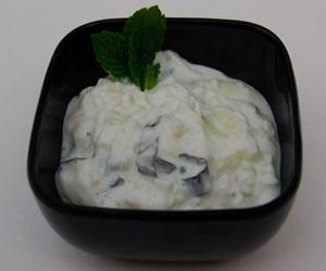 potato with yougurt