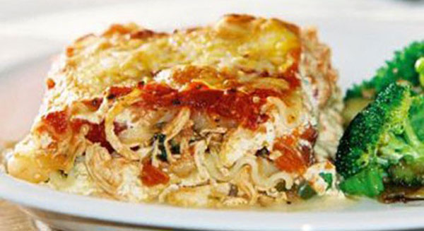 BBQ Chicken Lasagna Recipe
