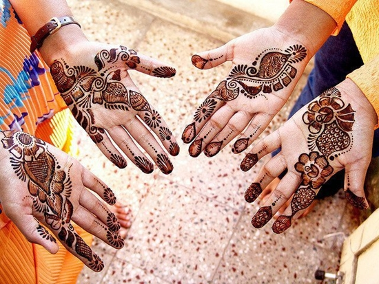 Most Beautiful Mehndi Designs 2012