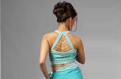 gorgeous saree blouse designs