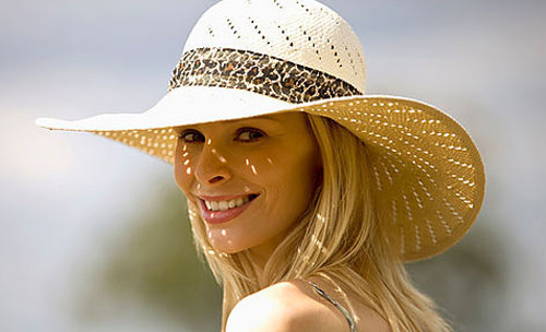 Ladies Straw Hats