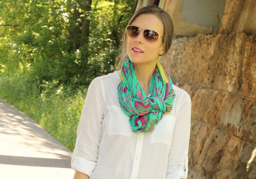 Colorful Summer Scarves