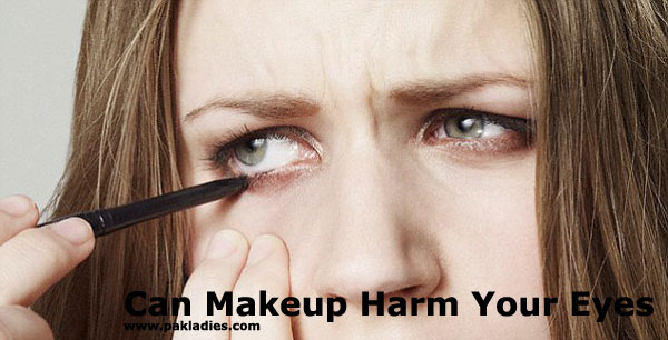 Can Makeup Harm Your Eyes