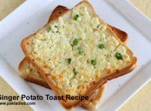 Ginger Potato Toast Recipe
