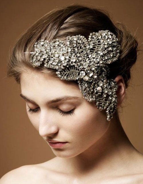 Vintage Inspired Wedding Hair Accessories