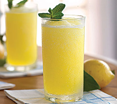 How to Make Lemon Soda Water