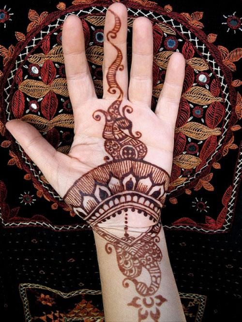 arabic mehndi design for hands