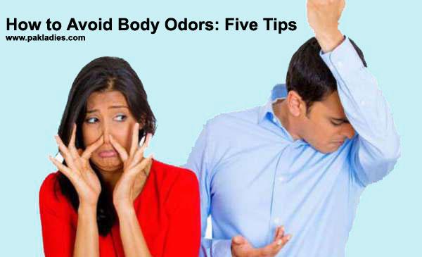 How to Avoid Body Odors
