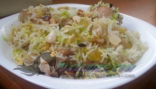 Irani zarda recipe