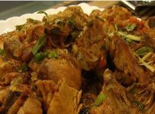 Mutton Chops Karahi