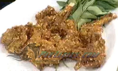 fried mutton kebab