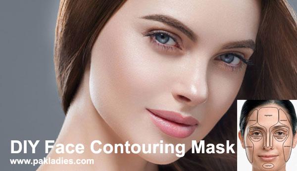DIY Face Contouring Mask