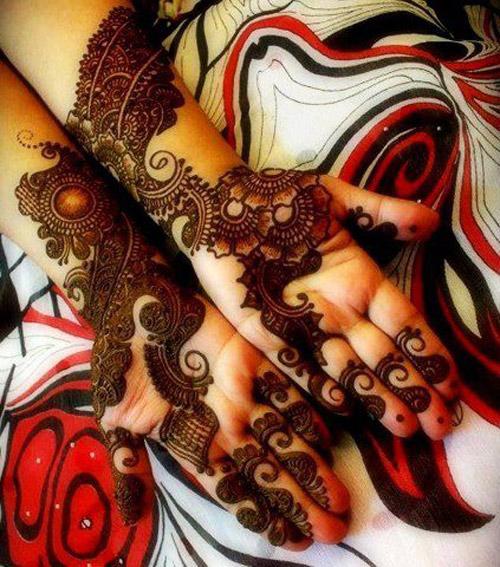 Free Mehndi Pattern