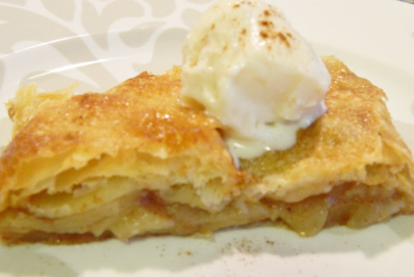 Puff Pastry Apple Strudel