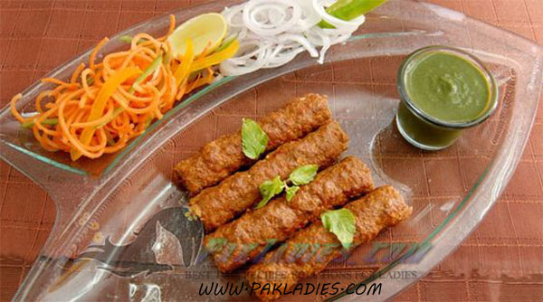 Delicious Seekh Kabab Recipe