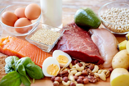 Lean Protein in a tray