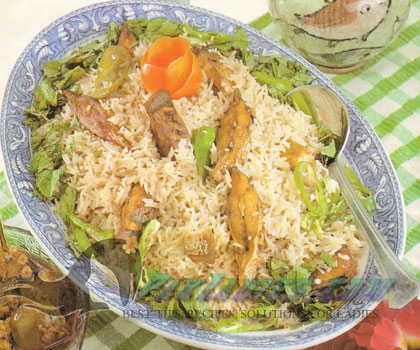 How to Make Fish Pulao